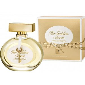 Antonio Banderas Her Golden Secret edt 80ml TESTER