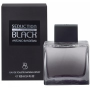 Antonio Banderas Seduction In Black Man edt 100ml TESTER