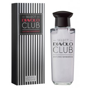 Antonio Banderas Select Diavolo Club edt 100ml TESTER
