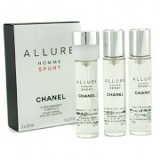 Chanel Allure Homme Sport edt  3*20ml Refills
