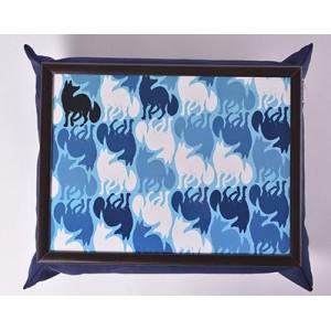 Мягкий cтолик на подушке Лиса в зазеркалье
