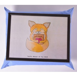 Мягкий cтолик на подушке Лисичка мечтатель