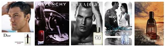 популярные мужские ароматы